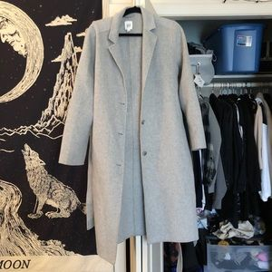 Gap Grey Pea Coat